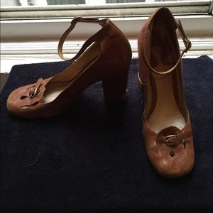 Chloe shoes leather